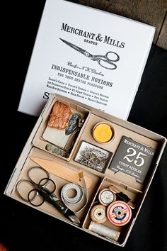 Merchant & Mills  Selected Notions Box Set - I wonder if I could make something like this for a gift.