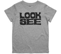 El Cheapo Look See (Black) Youth Grey Marle T-Shirt