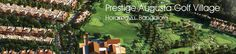Prestige Augusta Golf Village presented by Prestige Constructions which is actually a unique concept in ultra-luxury villas designing.  http://www.newvillasinbangalore.com