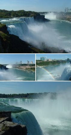 Been a while ago now, but I remember seeing the falls as a kid...Niagara Falls - Best time of my life