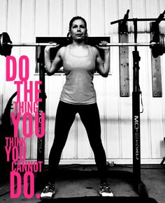 Don't let anyone, especially yourself, hold you back. Tell yourself.......I WILL beat her. I WILL train harder. I know her weaknesses. I know her strengths. I've lost to her before. But not this time! She is going down. I have the advantage, because I know her well. SHE IS THE OLD ME!