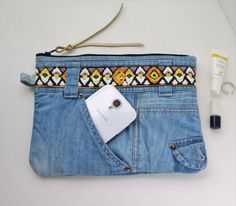 Hey, I found this really awesome Etsy listing at https://www.etsy.com/listing/187999608/upcycled-denim-bag-light-denim-purse
