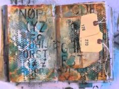 weekly art journaling video series  http://donnadowney.typepad.com/simply_me/inspiration-wednesdays/    supplies used:        inspiration journal      GOLDEN teal fluid acrylic paint      GOLDEN quinacridone nickel azo gold fluid acrylic paint      GOLDEN carbon black fluid acrylic paint      Turkish Grunge 12 x 12 stencil (NEW donna downey)      tiny cir...