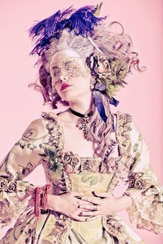 Marie Antoinette Couture x