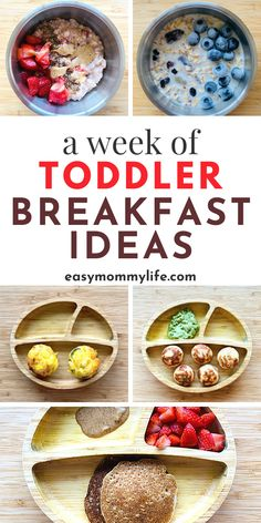 Easy Breakfast Muffins, Healthy Toddler Breakfast, Toddler Muffins, Healthy Toddler Meals, Toddler Snacks, Healthy Meals For Kids, Breakfast Ideas, Kids Meals, Healthy Recipes