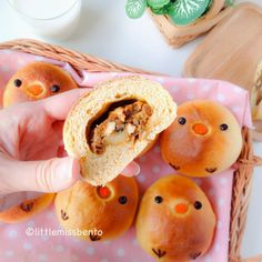 Recipe for Cute Chick Japanese Curry Bread 自家製カレーパン「レシピ」可愛いトリさん - Little Miss Bento