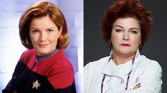 From 'Star Trek' Captain to Prison Chef: Oh my how Captain Janeway has changed! lol