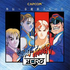 """vgjunk: """"Street Fighter Zero / Alpha. """" Street Fighter Alpha, Street Fighter Game, Super Street Fighter 2, Playstation, Xbox, World Of Warriors, Street Fights, King Of Fighters, Fighting Games"""