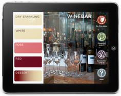 Maybe an app to describe combo of drinks and desserts? Could be a fun interface