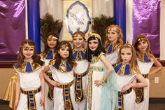 Jewel of the Nile Egyptian Spa Party by Banner Events as seen on HWTM.