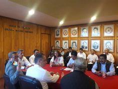 Reunión con la Confederación Nacional Agronomica.