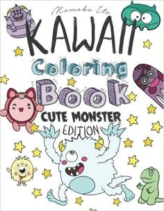 Kawaii Coloring Book - Cute Monsters Edition: A Cute Japanese Coloring Book for Adults, Teens and Kids ft. Unicorns, Ghosts, Dinosaurs & Other Magical ... (Asian Culture Art Books) (Volume 2) - https://tryadultcoloringbooks.com/kawaii-coloring-book-cute-monsters-edition-a-cute-japanese-coloring-book-for-adults-teens-and-kids-ft-unicorns-ghosts-dinosaurs-other-magical-asian-culture-art-books-volume-2/ - #AdultColoringBooks, #Fantasy