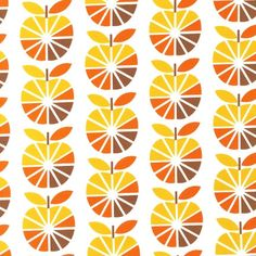 To Market To Market, Apples Retro Fabric-boys room