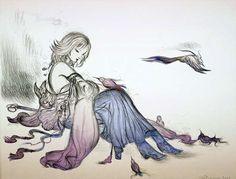 Yoshitaka Amano - Morning Song - Final Fantasy X