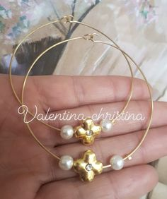Baptism Ideas, Bangles, Bracelets, Pearl Earrings, Pearls, Jewelry, Home Decor, Cute Bracelets, Pearl Studs