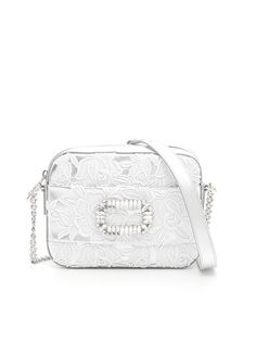 786329f7c5 ROGER VIVIER Lace And Crystal Bag.  rogervivier  bags  shoulder bags   leather  lining  lace  crystal
