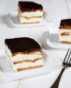 No Bake Gluten Free Chocolate Eclair Cake | Gluten Free on a Shoestring