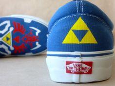 """Legend Of Zelda """"Twilight Princess"""" Vans"""