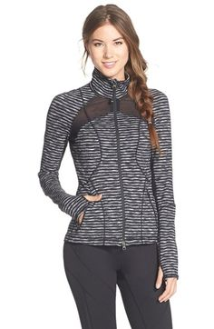 Zella 'Neo Future' Mesh Inset Jacket available at #Nordstrom