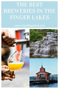 The Finger Lakes in New York State may be known primarily for wine, but that doesn't mean they don't have a great brewery scene. In fact, breweries in the Finger Lakes are popping up all over the place and making sure the beer lovers can have their fun in the region as well!   finger lakes breweries - finger lakes beer - beer lovers - american breweries - usa beer - seneca lake breweries - breweries on seneca lake - keuka lake breweries - breweries on keuka lake - breweries in the finger… Usa Travel Guide, Travel Advice, Travel Usa, Travel Guides, Travel Tips, Budget Travel, Mid Atlantic States, Seneca Lake, Amazing Destinations