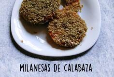 En esta receta les enseñaremos a preparar unas simples y deliciosas milanesas de calabaza.