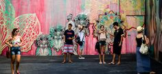 Since 2009, the Wynwood Art District has been transforming a former warehouse district into a work of beautiful local art. The area is now home to more than 70 art galleries, retail stores and bars, and features one of the world's largest open-air street-art installations. 2516 NW 2nd Ave., Miami, FL