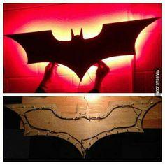 Decoración para fiesta temática de Batman