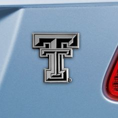 Customize your car or truck and show your team pride with this Texas Tech University Emblem by Fanmats. This chrome metal emblem featuring your favorite team is easy to apply on your vehicle, just pee