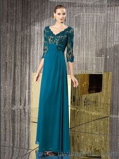 2015 Style Chiffon Mother of the Bride Dresses