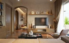 Diseño de Interiores Llenos de Textura y Obras de Arte de Buen Gusto                                                                                                                            Más