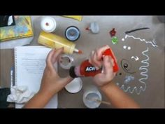 (9) How to Make Homemade 3-D Acrylic Paint - YouTube