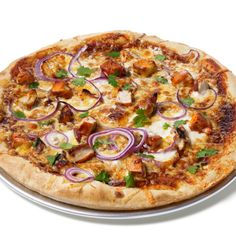 Almost-Famous Barbecue Chicken Pizza by Food Network Kitchen