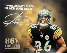 "You said it Hines!  BLACK AND GOLD!  I don't know what's up with all these people talking about ""black and yellow"". Obviously not real Steeler fans"