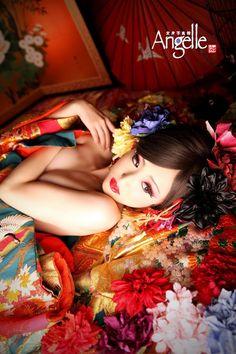 京都 花魁体験 変身写真館Angelle #kyoto #kimono #Oiran #geisha #京都 #花魁体験 #変身写真 #変身写真館 #変身写真館Angelle