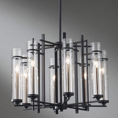 Murray Feiss F2628/8AF/BS Ethan Eight Light Chandelier