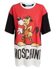 Moschino - Red Oversized Cheetos Tshirt