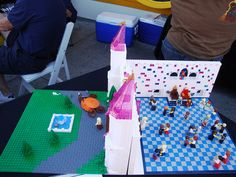Cinderella by legoriki, via Flickr Picnic Blanket, Outdoor Blanket, Lego Creations, Cinderella, Picnic Quilt
