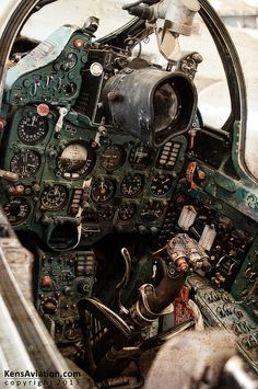 MiG plane, 1960s