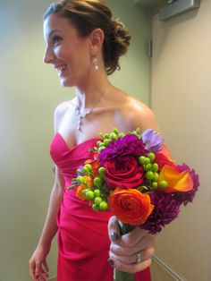 Colorful Bouquet  Flowers: Posy Flower Studio Photo: Posy Flower Studio