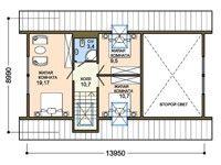 Проект дома из сип панелей -Великий кедр 2