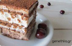 τουρτα παγωτο-ευκολη τουρτα παγωτο σε 5΄-Γενεθλια