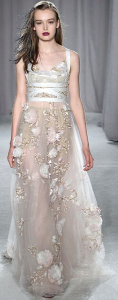 Marchesa....my favorite designer. If only I could afford to wear....