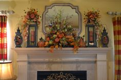 Love the mantle!  Kristen's Creations