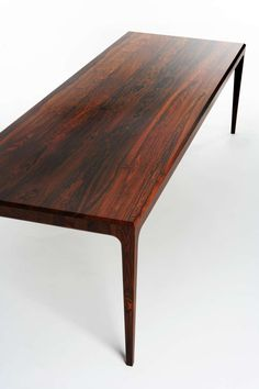 1stdibs.com | PD60 Solid Rosewood Dining Table