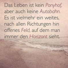 Das Leben ist kein Ponyhof.  #instaquote #justsayin #justsaying #loveyourlife #loveyourself #lifeisgood #openyourmind