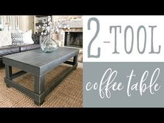 Two Tool Coffee Table - Shanty 2 Chic