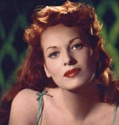 "Maureen O'Hara - (one of my favorites)    ""There's only one woman who has been my friend over the years and by that I mean a real friend, like a man would be. That woman is Maureen O'Hara. She's big, lusty, and absolutely marvelous, definitely my kind of woman. She's a great guy. I've had many friends and I prefer the company of men. Except for Maureen O'Hara."" -John Wayne"