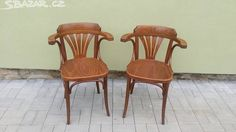 Židle TON 2ks - obrázek číslo 1