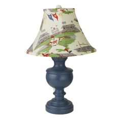 Charn and Company Go Team Urn Lamp Ships Free, Sports themed lamps and shades
