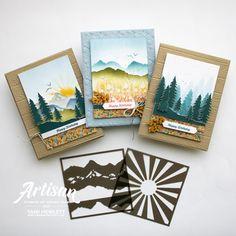 Cool Stencils, Free Stencils, Fun Fold Cards, Cool Cards, Stampin Up Paper Pumpkin, Pumpkin Cards, Pumpkin Stencil, Fabric Cards, Shaped Cards